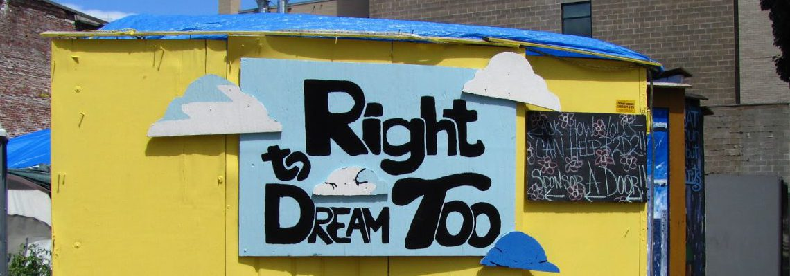 "Lloyd EcoDistrict and ebay Portland partner on ""Sleep and Recharge"" Campaign for Right 2 Dream Too"