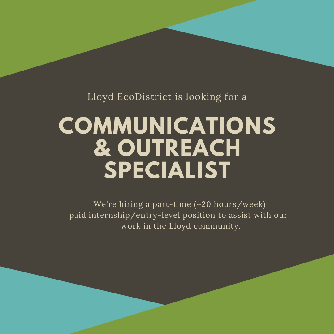 We're Hiring: Communications and Outreach Specialist